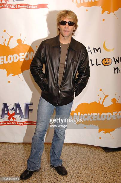 Jon Bon Jovi during Annual Dream Halloween Fundraiser for Children Affected by AIDS Foundation at Hammerstein Ballroom in New York City New York...