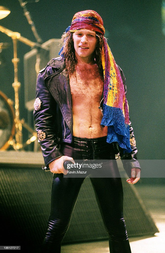 Bon Jovi in Concert - File Photo's - Circa 1989 : Fotografía de noticias