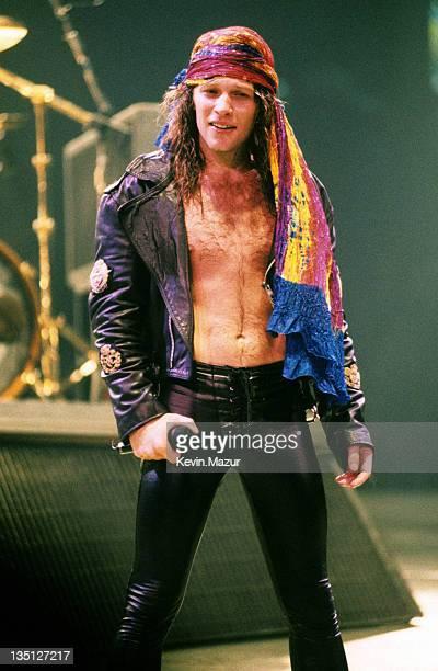 Jon Bon Jovi during Bon Jovi in Concert File Photo's Circa 1989 United States