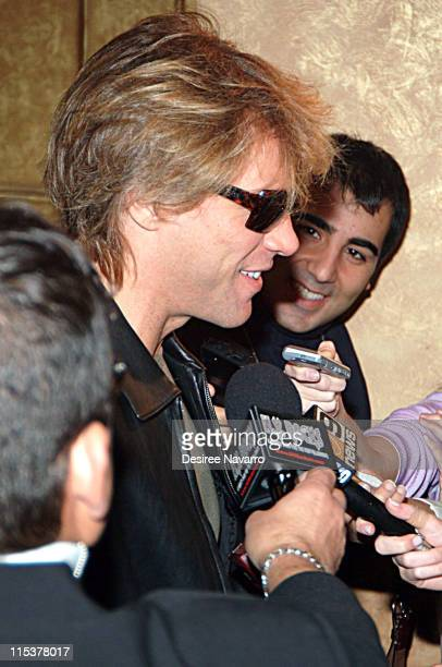 Jon Bon Jovi during Dream Halloween Fundraiser to Benefit the Children Affected by AIDS Foundation at Hammerstein Ballroom in New York City New York...