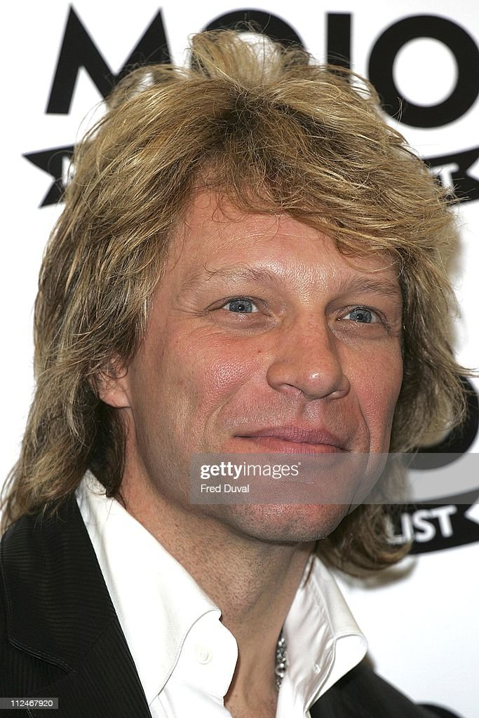 Jon Bon Jovi during Mojo Honours List 2006 - Press Room at Shoreditch Town Hall in London, Great Britain.