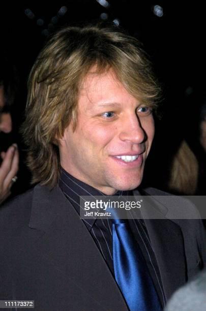 Jon Bon Jovi during Shoah Foundation Exclusive Event at Amblin Entertainment on Universal Studios in Universal City California United States