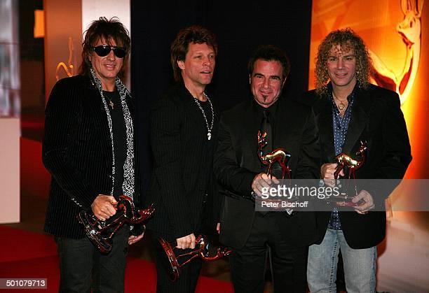 """Jon Bon Jovi mit Band, Musikgruppe """"Bon Jovi"""" , Bambi-Verleihung, Congress Centrum, Düsseldorf, Nordrhein-Westfalen, Deutschland, Europa, Preis,..."""