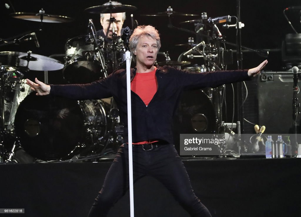 Bon Jovi In Concert - Chicago, IL : News Photo
