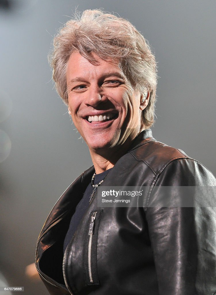 Jon Bon Jovi Performs At SAP Center