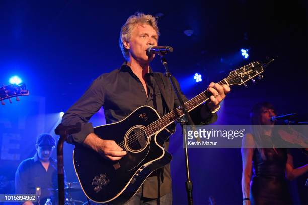 Jon Bon Jovi performs onstage during Apollo in the Hamptons 2018 Hosted by Ronald O Perelman at The Creeks on August 11 2018 in East Hampton New York