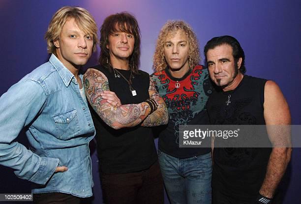 Jon Bon Jovi Richie Sambora David Bryan and Tico Torres of Bon Jovi