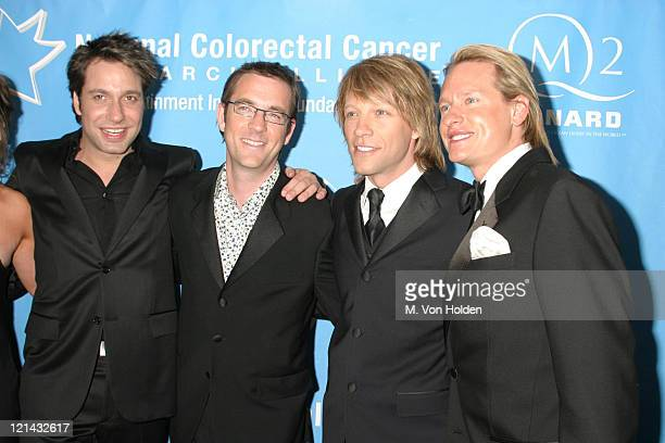 Jon Bon Jovi with Thom Filicia Ted Allen and Carson Kressley of 'Queer Eye for the Straight Guy'