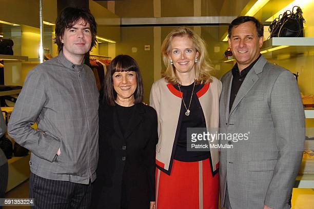 Jon Brion Lisa Robinson Jennifer Maguire and Craig Hatkoff attend FONDAZIONE PRADA presents TRIBECA TALKS with an interview by Lisa Robinson to Jon...