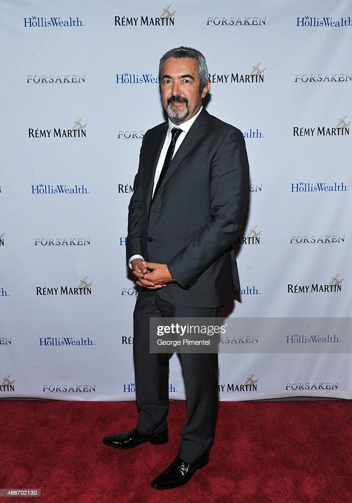 Jon Cassar attends 'Forsaken' TIFF party hosted by Remy Martin and Holliswealth during the 2015 Toronto International Film Festival at Weslodge on September 16, 2015 in Toronto, Canada.