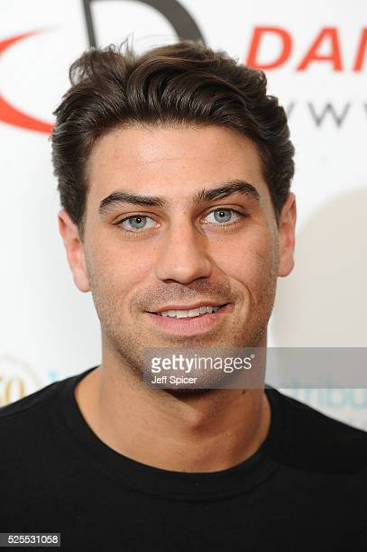 Jon Clark arrives at the launch of the 2016 annual BLOCH Dance World Cup on April 28 2016 in London England