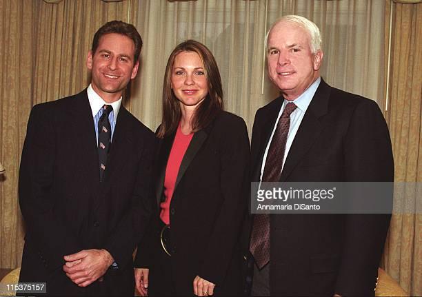 Jon Cowan president of Americans For Gun Safety Kelli Williams of The Practice and Senator John McCain