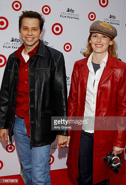 Jon Cryer and Sarah Trigger Cryer at the Wadsworth Theater in Los Angeles, California