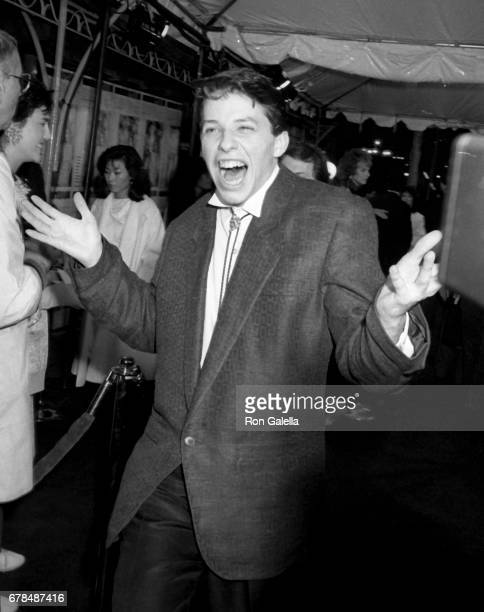 Jon Cryer attends 'Pretty In Pink' Premiere on January 29 1986 at Mann Chinese Theater in Beverly Hills California