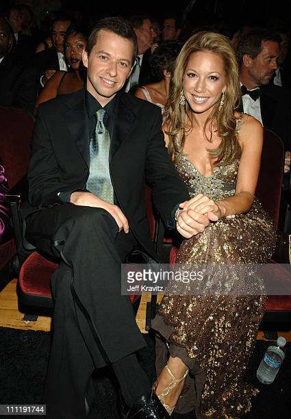 Jon Cryer nominee Outstanding Supporting Actor In A Comedy Series for Two and a Half Men and Lisa Joyner **EXCLUSIVE**