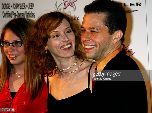 Jon Cryer Sarah Trigger and guest at the Beverly Hilton Hotel in Beverly Hills California