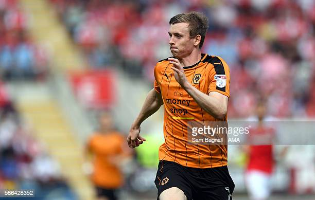 Jon Dadi Bodvarsson of Wolverhampton Wanderers during the Sky Bet Championship match between Rotherham United v Wolverhampton Wanderers at The New...