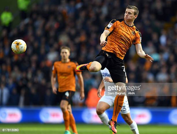 Jon Dadi Bodvarsson of Wolverhampton Wanderers during the Sky Bet Championship match between Wolverhampton Wanderers and Leeds United at Molineux on...