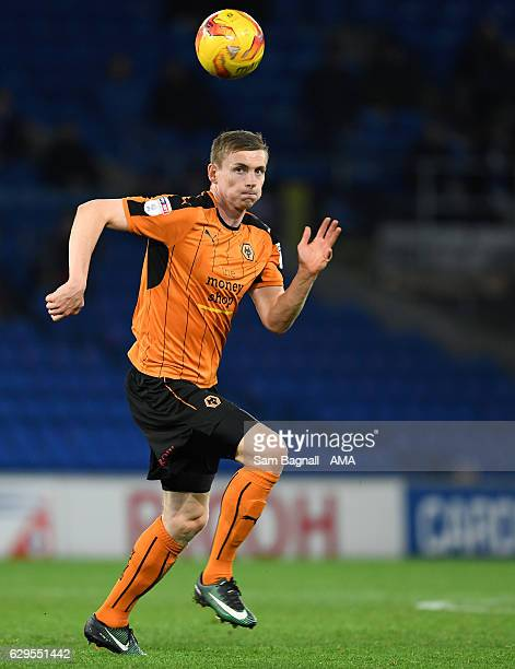 Jon Dadi Bodvarsson of Wolverhampton Wanderers during the Sky Bet Championship match between Cardiff City and Wolverhampton Wanderers at Cardiff City...