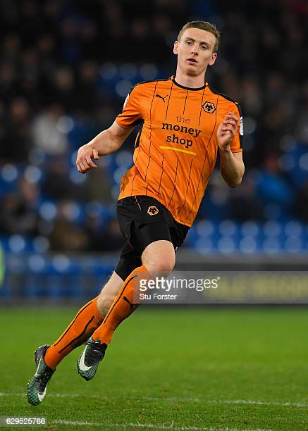 Jon Dadi Bodvarsson of Wolves in action during the Sky Bet Championship match between Cardiff City and Wolverhampton Wanderers at Cardiff City...