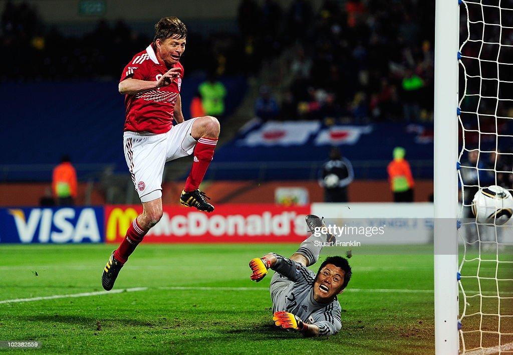 Denmark v Japan: Group E - 2010 FIFA World Cup