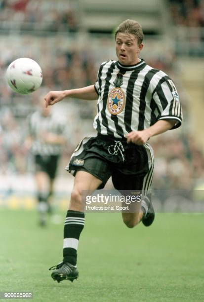 Jon Dahl Tomasson of Newcastle United in action during an FA Carling Premiership match between Newcastle United and Tottenham Hotspur at St James'...