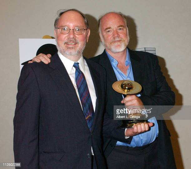 Jon Davison and Phil Tippett winners for Best DVD Release for 'Starship Troopers Hero of the Federation'