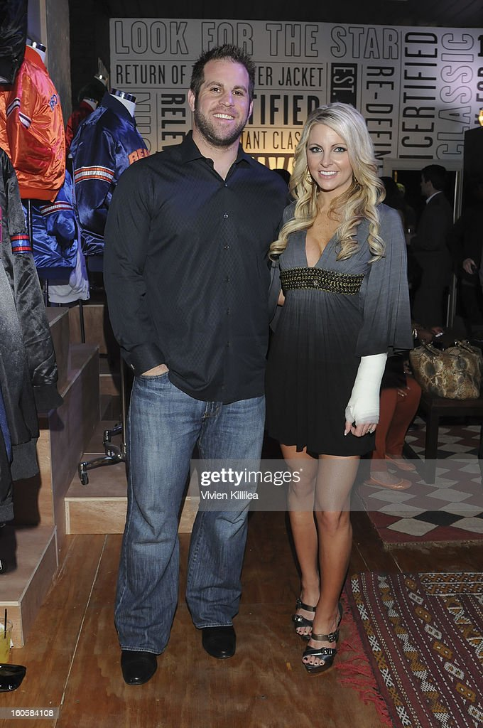 Jon Dorenbos and Julie Dorenbos attend Starter Parlor - Super Bowl XLVII on February 2, 2013 in New Orleans, Louisiana.