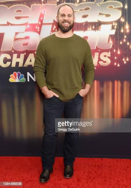 Jon Dorenbos arrives at America's Got Talent The Champions Finale at Pasadena Civic Auditorium on October 17 2018 in Pasadena California