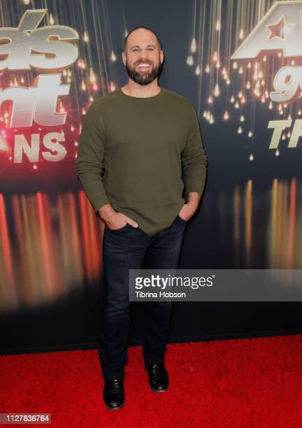 Jon Dorenbos attends the 'America's Got Talent The Champions' Finale at Pasadena Civic Auditorium on October 17 2018 in Pasadena California