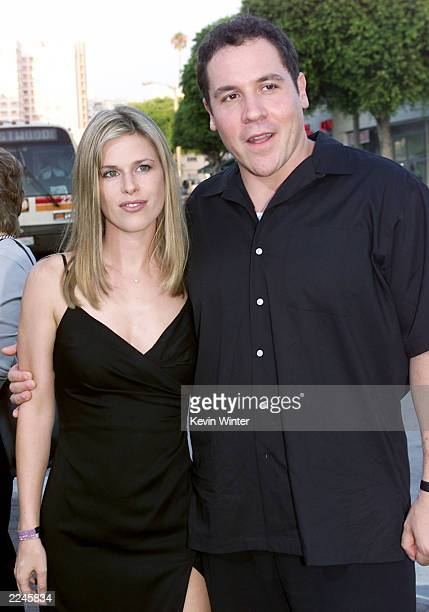 Jon Favreau and Joya Tillem at the world premiere of 'The Replacements' in Los Angeles Photo by Kevin Winter/ImageDirect