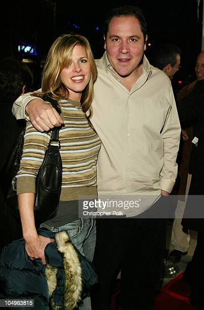 Jon Favreau and wife Joya Tillem during World Premiere of DreamWorks' House of Sand And Fog at ArcLight Cinerama Dome in Hollywood California United...