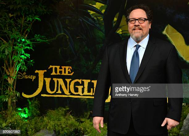 Jon Favreau arrives for the European premiere of 'The Jungle Book' at BFI IMAX on April 13 2016 in London England