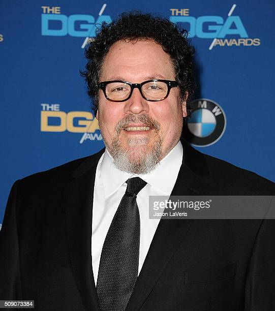 Jon Favreau attends the 68th annual Directors Guild of America Awards at the Hyatt Regency Century Plaza on February 6 2016 in Los Angeles California