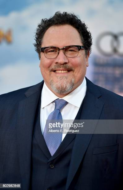 Jon Favreau attends the premiere of Columbia Pictures' 'SpiderMan Homecoming' at TCL Chinese Theatre on June 28 2017 in Hollywood California