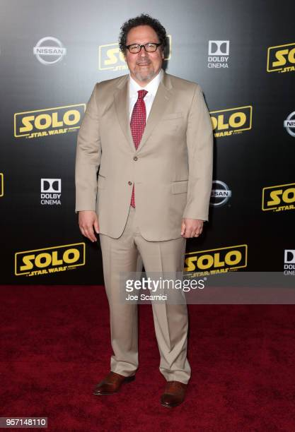 Jon Favreau attends the premiere of Disney Pictures and Lucasfilm's Solo A Star Wars Story at the El Capitan Theatre on May 10 2018 in Hollywood...