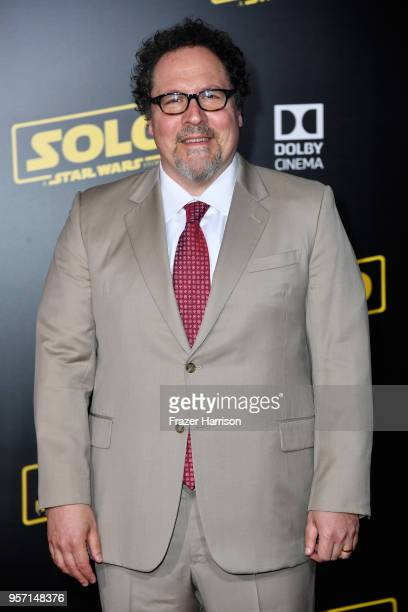 Jon Favreau attends the premiere of Disney Pictures and Lucasfilm's Solo A Star Wars Story at the El Capitan Theatre on May 10 2018 in Los Angeles...