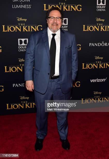"""Jon Favreau attends the premiere of Disney's """"The Lion King"""" at Dolby Theatre on July 09, 2019 in Hollywood, California."""