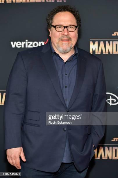 Jon Favreau attends the premiere of Disney's The Mandalorian at El Capitan Theatre on November 13 2019 in Los Angeles California