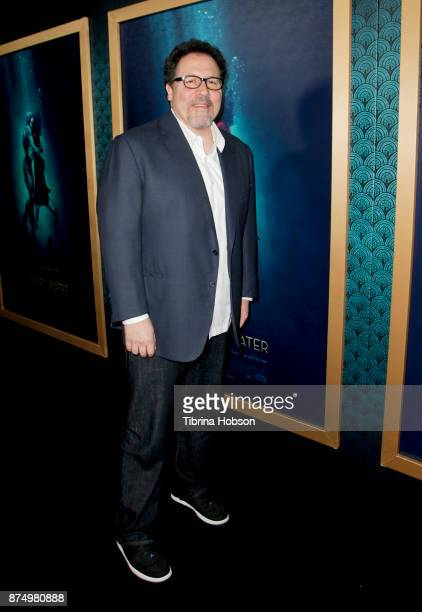 Jon Favreau attends the premiere of 'The Shape Of Water' at Academy Of Motion Picture Arts And Sciences on November 15 2017 in Los Angeles California