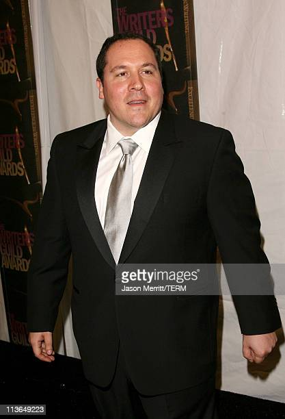 Jon Favreau, host during 2006 Writers Guild Awards - Press Room at The Hollywood Palladium in Hollywood, California, United States.