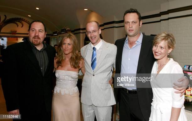 Jon Favreau Jennifer Aniston Peyton Reed director Vince Vaughn and Joey Lauren Adams
