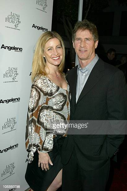 Jon Feltheimer and wife during Lions Gate Films Pre-Oscar Party - Red Carpet at SkyBar in West Hollywood, California, United States.