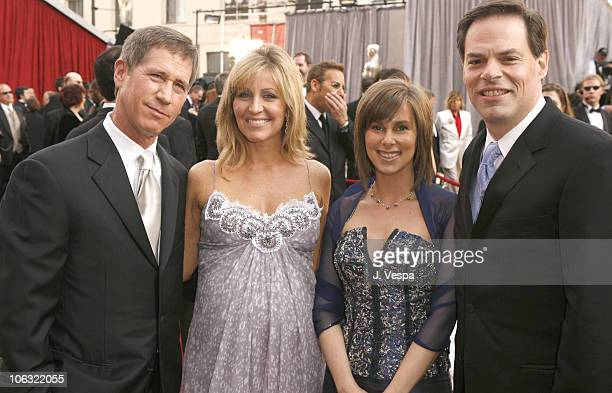 Jon Feltheimer CEO of Lionsgate his wife Laurie Edie Riggins and Tom Ortenberg of Lionsgate