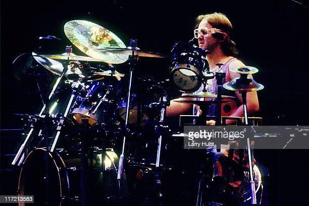 Jon Fishman playing in 'Phish' performing at Red Rocks Ampliatheater in Morrison Colorado on June 10 1995