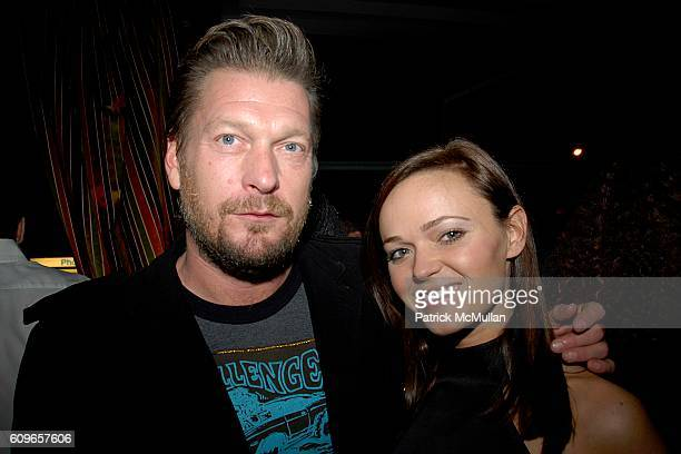 Jon Fitie and Amanda Doll Sheppard attend COUP de COEUR Celebrates the Holidays with Shopping and Cocktails at FELICE WINE BAR at FELICE Wine Bar...