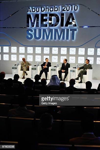 Jon Fort senior writer for Fortune Dr SukChae Lee Chairman of KT Corporation Dirk Meyer President and CEO of AMD and Jonney Shih Chairman of ASUS...