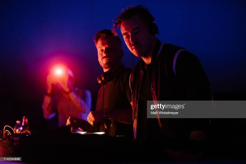 CA: 2019 Coachella Valley Music And Arts Festival - HP And RÜFÜS DU SOL