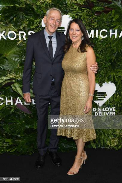 Jon Gilman and Karen Pearl attend the 11th Annual Golden Heart Awards benefiting God's Love We Deliver on October 16 2017 in New York City