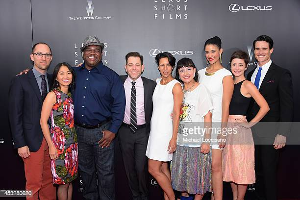 Jon Goldman, Hong Chau, Leonard Earl Howze, Joey Horvit, Lance Still, Satsuki Okawa, Jessica Clark, Phoebe Neidhardt and Nick Ballard attend the 2nd...